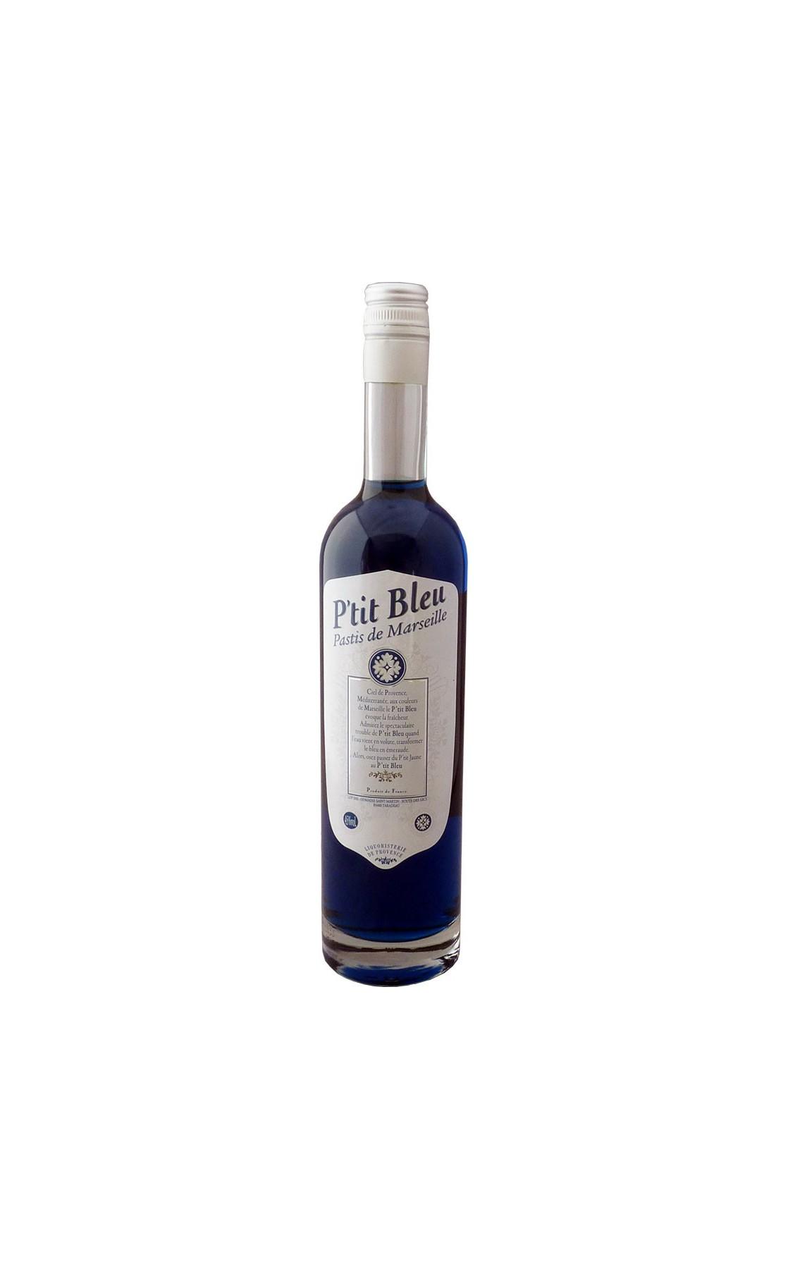 Le P'tit Bleu, le Pastis bleu au couleurs de Marseille