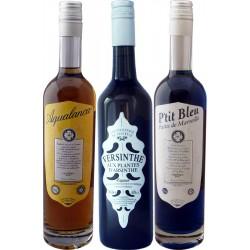 Aqualanca, Ptit Bleu et Versinthe