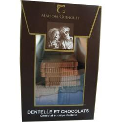 Dentelle et chocolats 100g