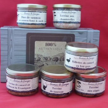 Coffret authentique 6 terrines