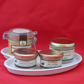 Assiette porcelaine foie gras n°2