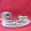 Assiette porcelaine foie gras n°3