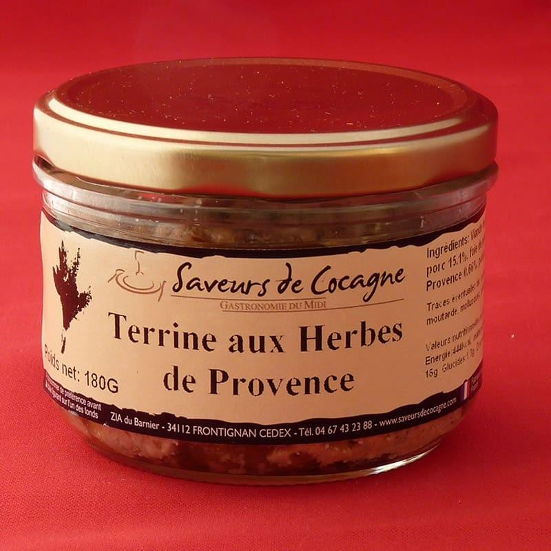 Terrine aux herbes de Provence 180g