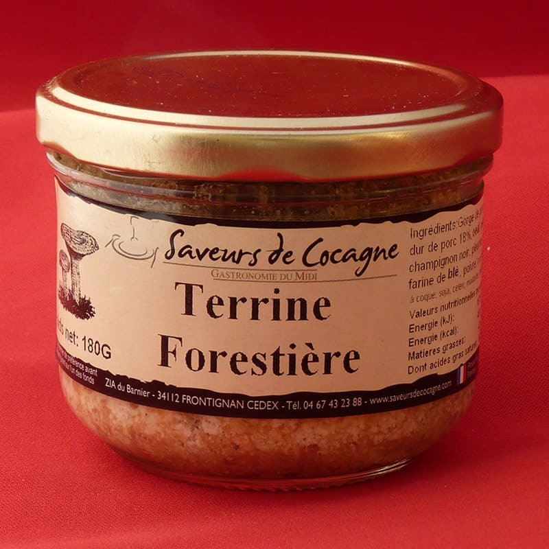 Terrine Forestière 180g