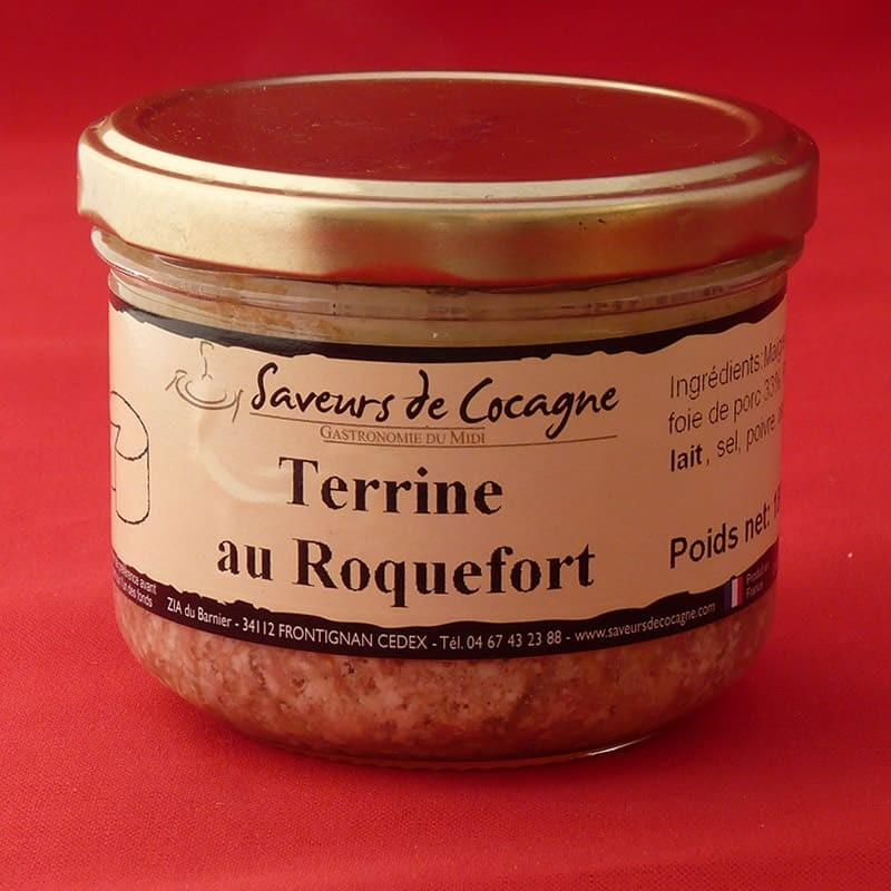 Terrine au Roquefort 180g