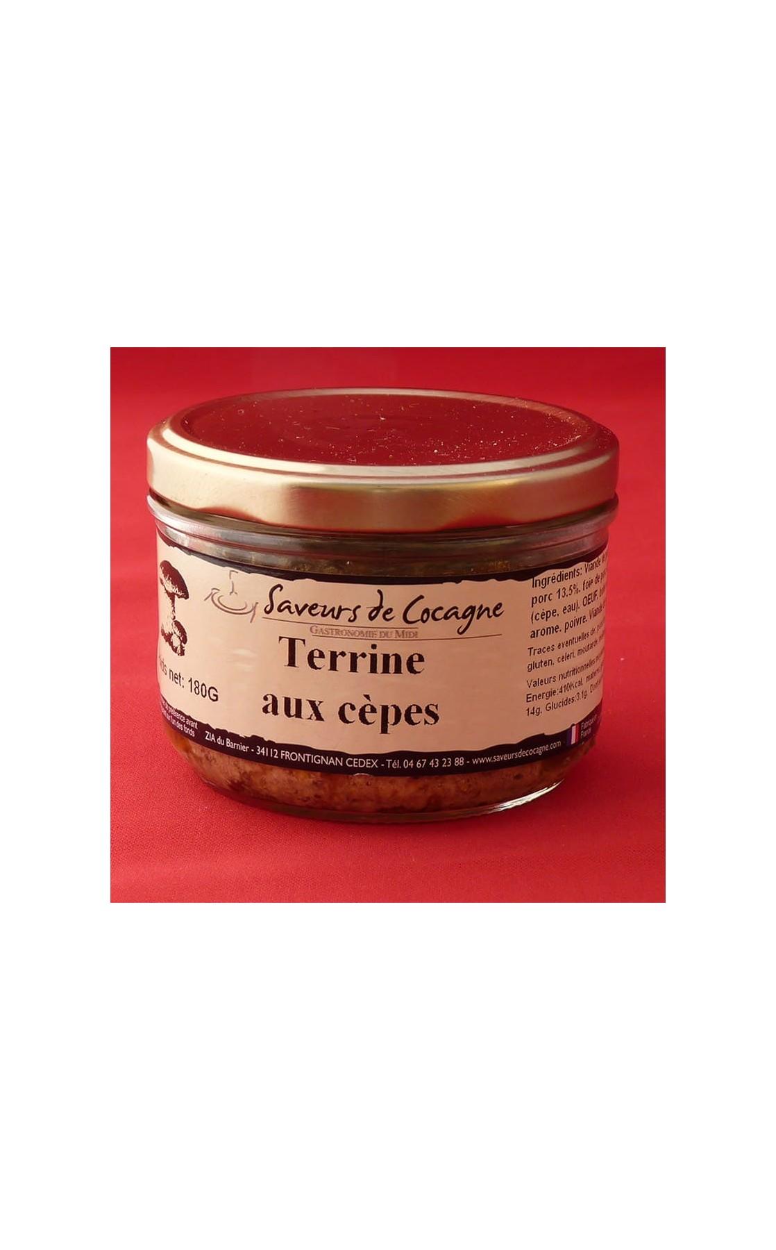 Terrine aux Cèpes 180g