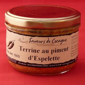 Terrine au piment d'Espelette 180g