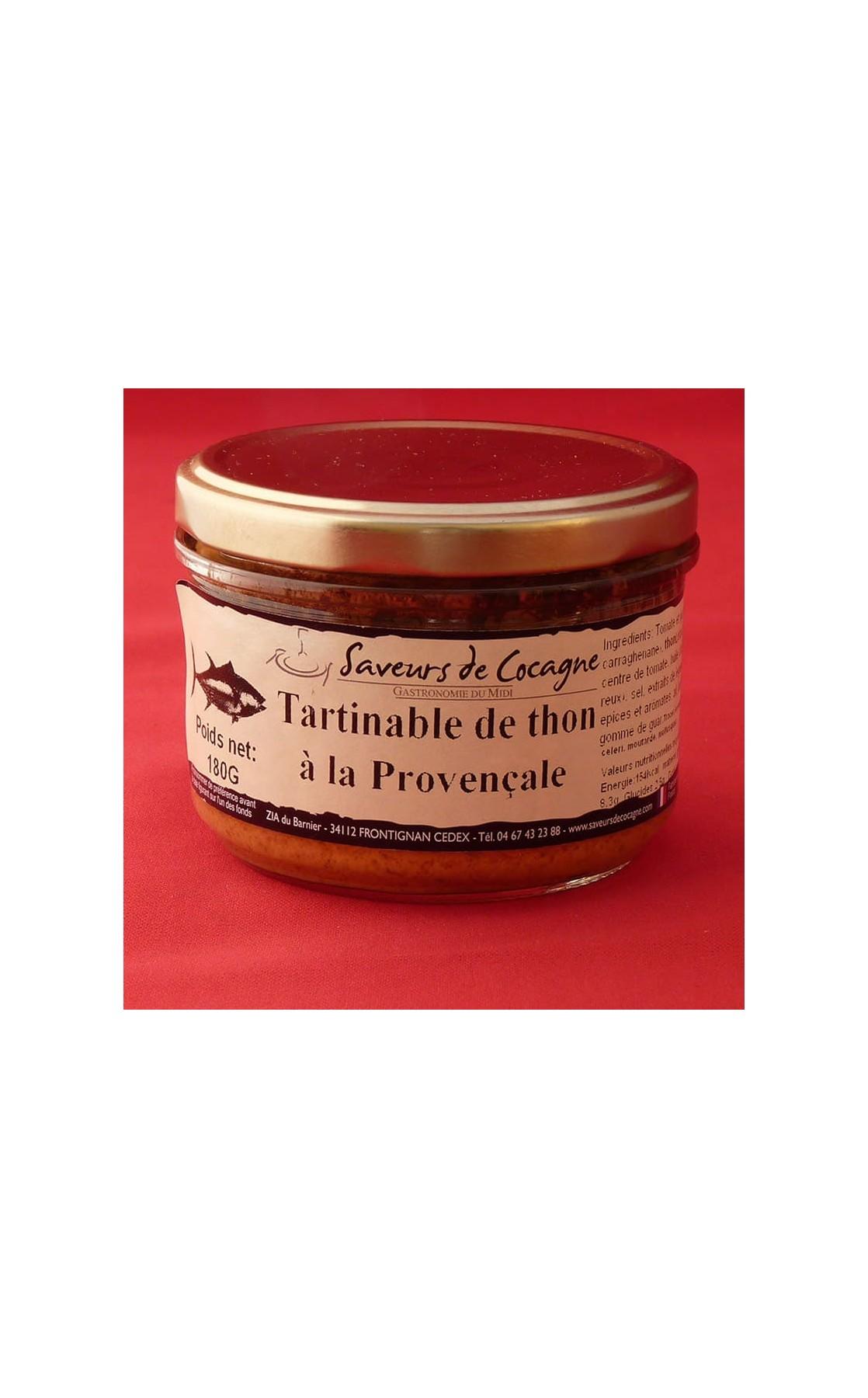 Tartinable de thon à la provençale 180g