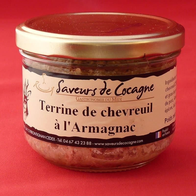 Terrine de chevreuil à l'Armagnac 180g