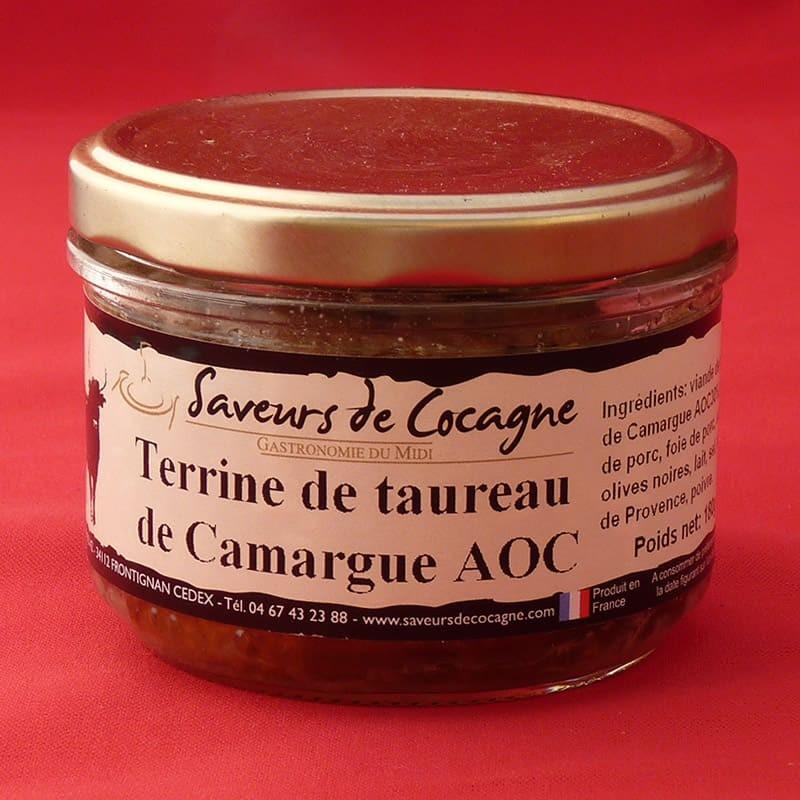 Terrine de taureau de Camargue A.O.C. 180g