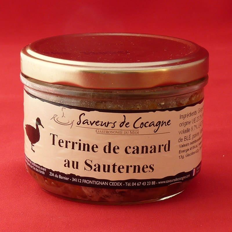 Terrine de canard au Sauternes 180g
