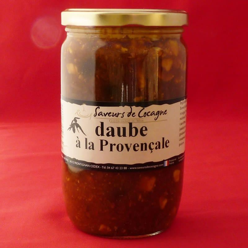 Daube provençale aux olives - 600g
