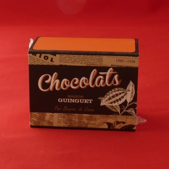 Langues chat chocolat noir Vietnam 100g