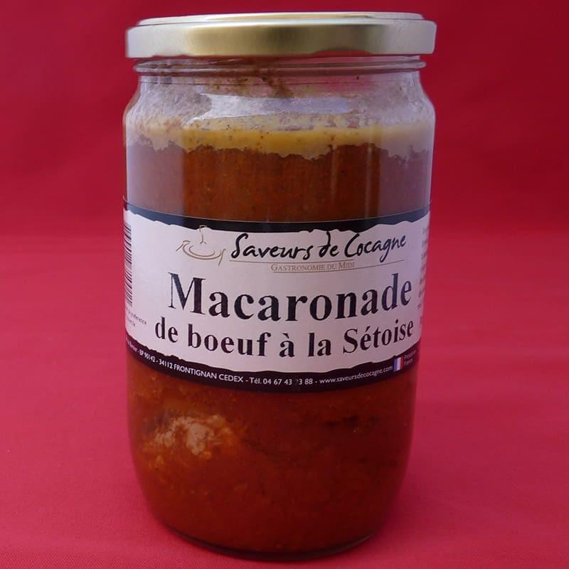 Macaronade de boeuf à la Sétoise - 600g