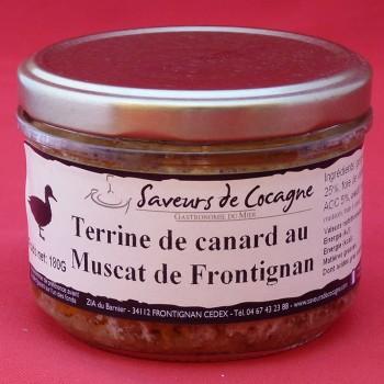 Terrine de canard au muscat de Frontignan 180g