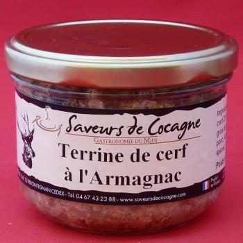 Terrine de cerf à l'Armagnac 180g