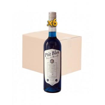 Carton de 6 P'tit Bleu 70cl