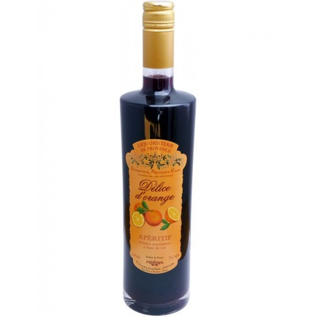 Délice d'Orange, vin d'orange 75cl