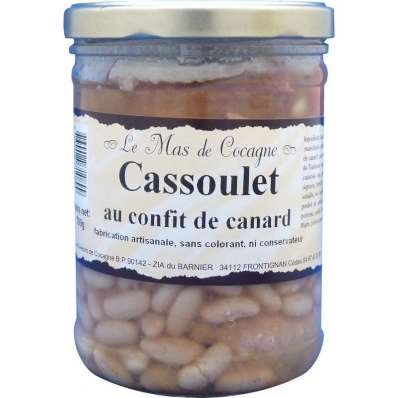 Cassoulet au confit de canard - 780g