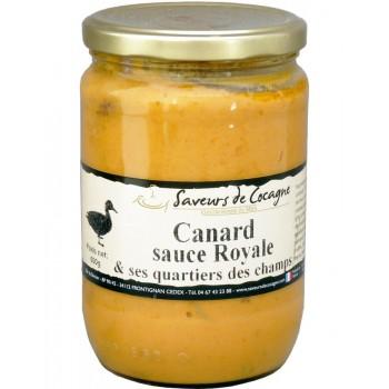 Canard sauce royale et ses quartiers des champs 600g