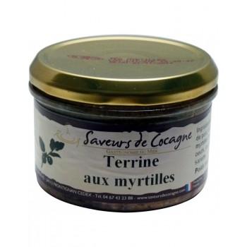Terrine aux myrtilles 180g