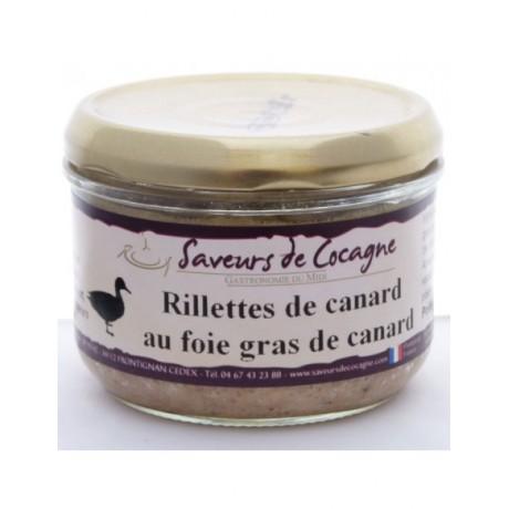 Rillettes au foie gras 180g