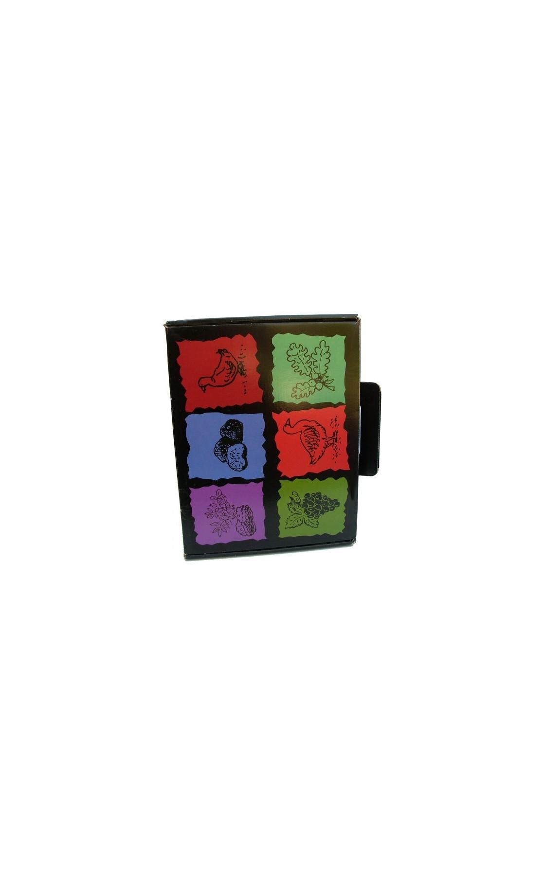 Valisette décor produits du terroir 35x27x11
