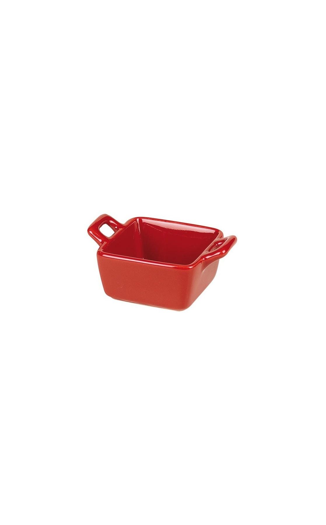 ramequin en céramique rouge