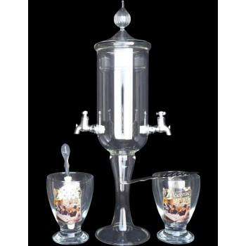 Service petite Fontaine à absinthe 2 robinets Libertine